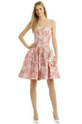 Halston Heritage - Vie en Rose Dress