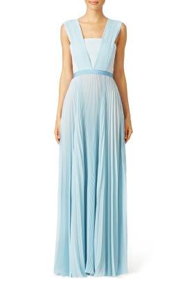 Glacier Blue Gown by Vionnet