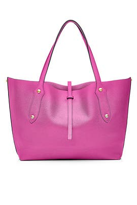 Fuchsia Small Isabella Tote by Annabel Ingall