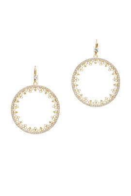 Chantilly Charm Drop Earrings by kate spade new york accessories