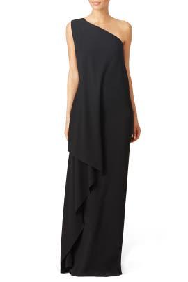 Black Medusa Gown by Vionnet