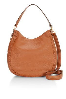Leather Convertible Hobo Bag by Rebecca Minkoff Accessories