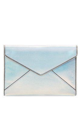 Iridescent Leo Clutch by Rebecca Minkoff Accessories