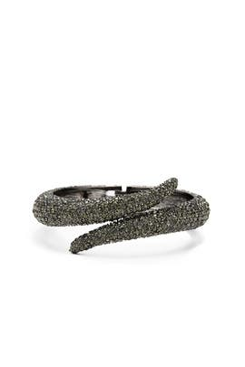 Black Diamond Pave Bracelet by Slate & Willow Accessories