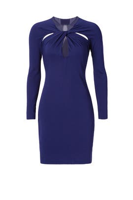 Halston Heritage - With a Twist Dress