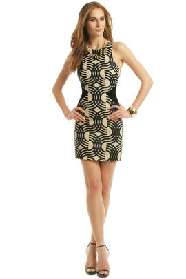 David Koma - Swirl My Way Dress