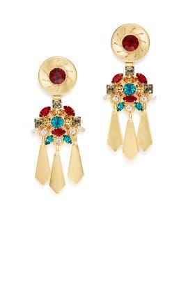 Radius Earrings by Nicole Romano