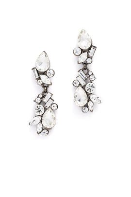 Gunmetal Drop Earrings by RJ Graziano