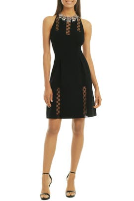 Sheer Poppy Panel Sheath by Thakoon