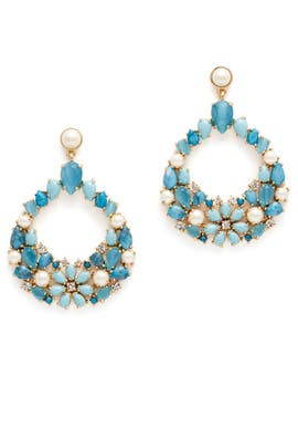 Azure Allure Statement Earrings by kate spade new york accessories