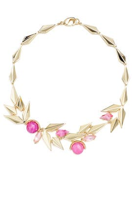 Modern Petal Necklace by Sarah Magid