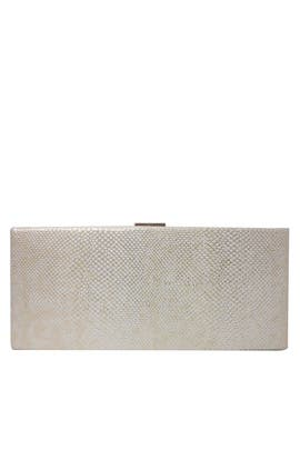 Gold Lizard Clutch by Sondra Roberts