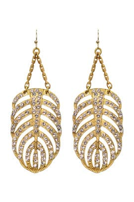 Gold Drift Earrings by Lulu Frost
