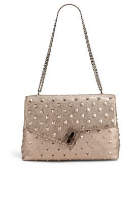 Metallic Stud DN Bag by ela Handbags
