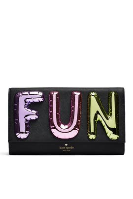 Whimsies Fun Balloon Clutch by kate spade new york accessories