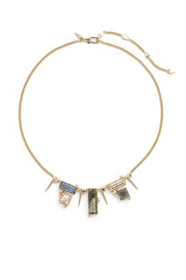Mixed Stone and Crystal Necklace by Alexis Bittar