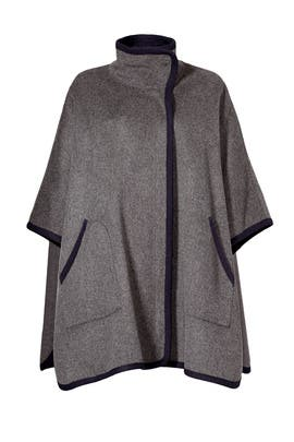 Piped Cape Jacket by Joie