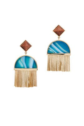 Sunset Tassel Earrings  by Sarah Magid