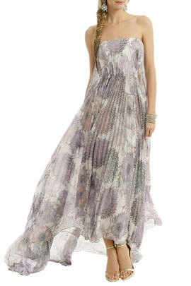 Badgley Mischka - Heather Floral Printed Maxi