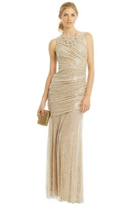 Natural Beauty Gown by Carmen Marc Valvo