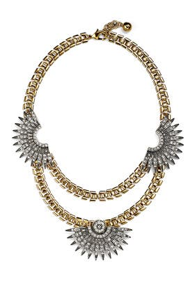 Beacon Statement Necklace by Lulu Frost