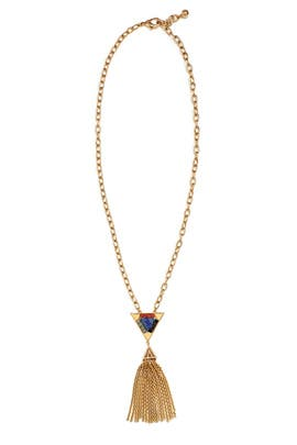 Petra Tassel Necklace by Lulu Frost