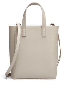 Mist Grey Shopper Tote by Tome x TDE