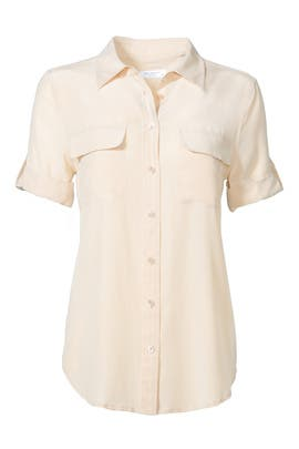 Nude Signature Button Down by Equipment