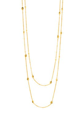 Marlow Wrap Necklace by Gorjana Accessories