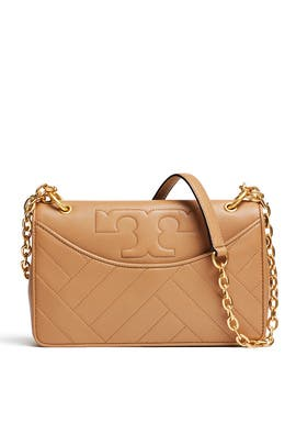 Camel Alexa Shoulder Bag by Tory Burch Accessories