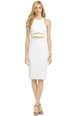 Cushnie Et Ochs - White Shockwave Dress