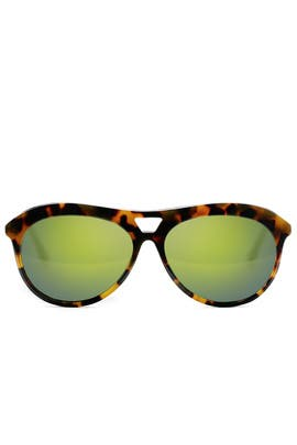 Tortoise Houston Sunglasses by Elizabeth and James Accessories