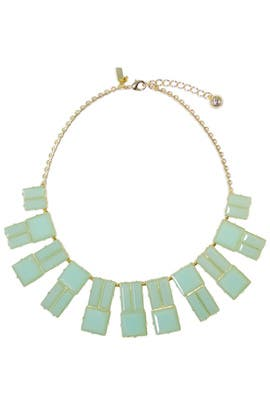 Green Hot Chip Statement Necklace by kate spade new york accessories