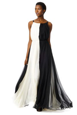Polar Opposite Gown by Milly