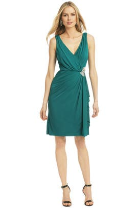 Badgley Mischka - Green Royal Standard Dress