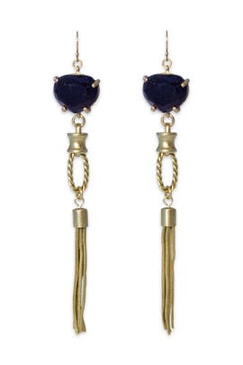 Gerard Yosca - Starry Skies Tassel Earrings