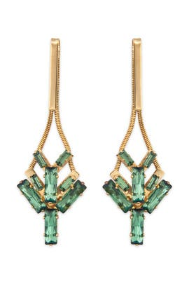 Lee Angel - Tropical Ocean Stone Earrings