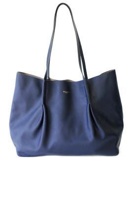 Blue Ondine Medium Tote by Nina Ricci Accessories