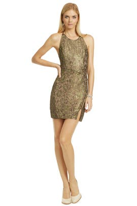 BCBGMAXAZRIA - Got Him Hooked Dress