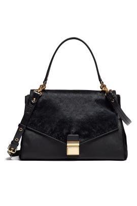 Black Mindy Handbag by Badgley Mischka Handbags