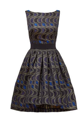 Swerve Print Dress by Christian Pellizzari