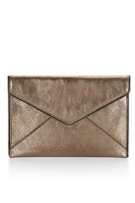 Copper Leo Clutch by Rebecca Minkoff Handbags