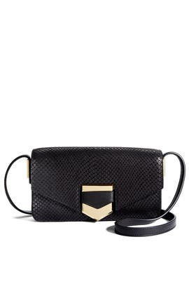 Black Ion Shoulder Bag by Times Arrow