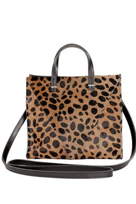 Leopard V Petite Simple Tote by Clare V.