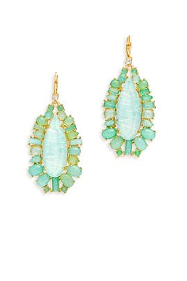 Seastone Sparkle Statement Earrings by kate spade new york accessories