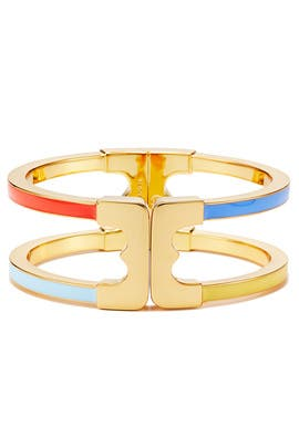 Multi Gemini Link Cuff by Tory Burch Accessories