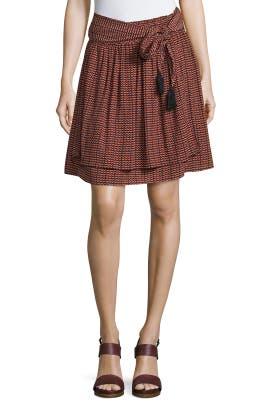 Baja Tie Skirt by Apiece Apart