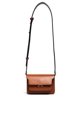 Marron Trunk Shoulder Bag by Marni Accessories