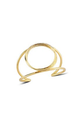 Gold Lissie Cuff  by Elizabeth and James Accessories