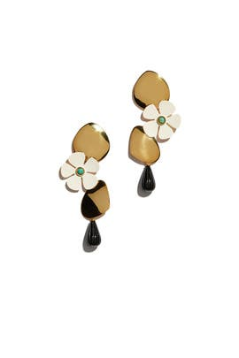 Woodstock Earrings by Lizzie Fortunato
